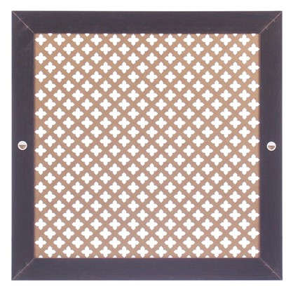 Экран для радиатора Готико 60х60 см цвет венге