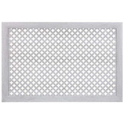 Экран для радиатора Готико 90х60 см цвет дуб серый