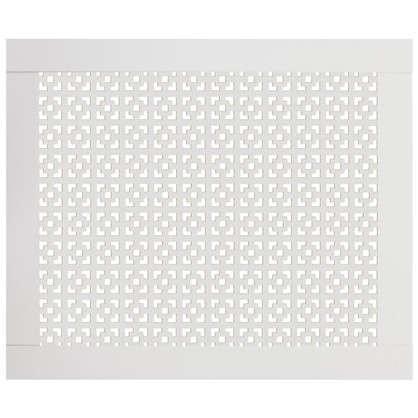 Купить Экран для радиатора Конструктор 50х60 см цвет белый дешевле