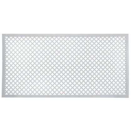 Купить Экран для радиатора Лотос 60х120 см цвет белый дешевле