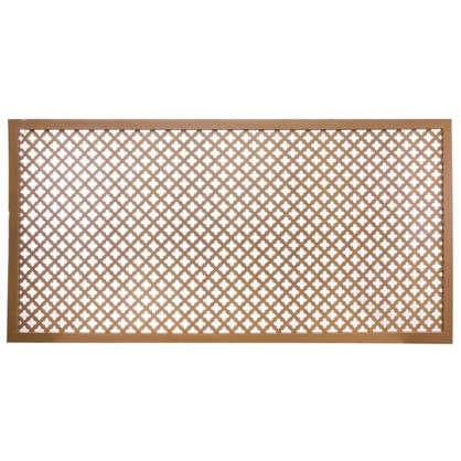 Экран для радиатора Лотос 60х120 см цвет вишня цена