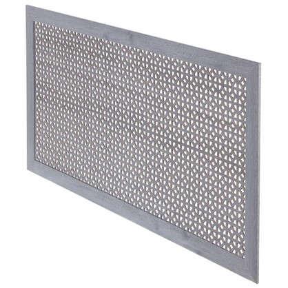 Купить Экран для радиатора Сусанна 120х60 см цвет дуб серый дешевле