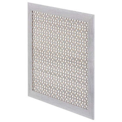 Купить Экран для радиатора Сусанна 60х60 см цвет дуб серый дешевле
