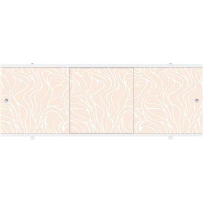 Экран под ванну Премиум А 148 см цвет кремовый
