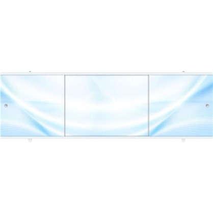 Экран под ванну Премиум А 168 см цвет голубой