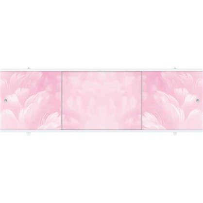 Экран под ванну Премиум А 168 см цвет розовый