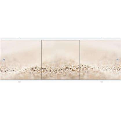 Экран под ванну Премиум Арт Теплый песок 1.48 м