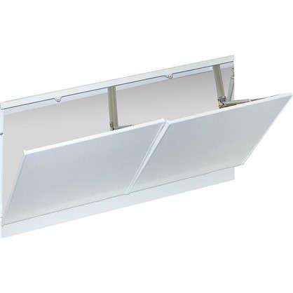 Купить Экран под ванну с откидными Лайт 168 см цвет белый дешевле