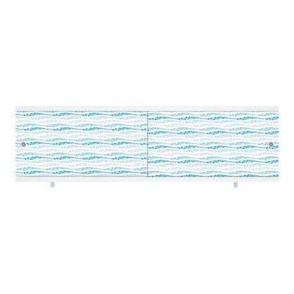 Экран под ванну Ультра лёгкий 148 см цвет аква цена