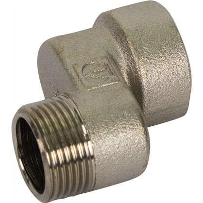 Эксцентрик внутренняя-наружная резьба 3/4x20 мм никелированная латунь