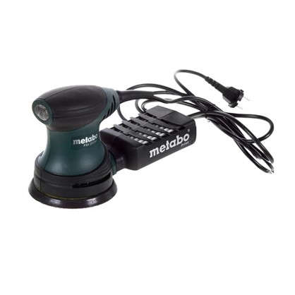 Эксцентриковая шлифовальная машина Metabo FSX 200 Intec 240 Вт 125 мм