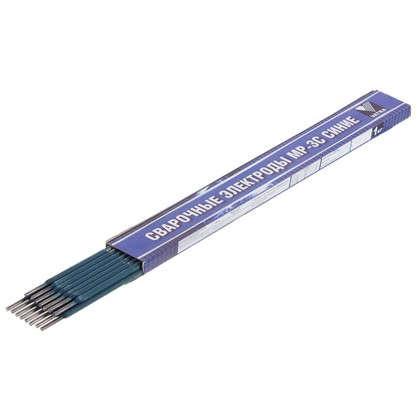 Электроды сталь МР-3С 4 мм 1 кг цвет синий
