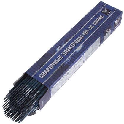 Электроды сталь МР-3С 4 мм 5 кг цвет синий