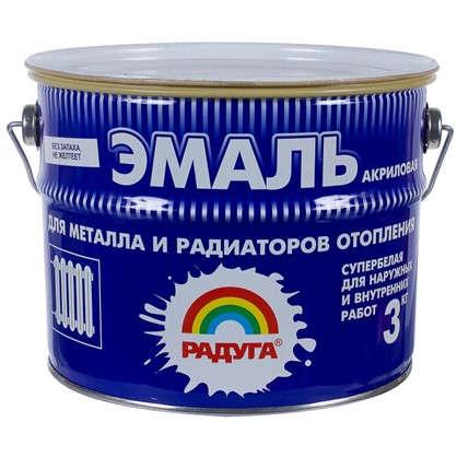 Купить Эмаль акриловая для радиаторов белая Р-178 3 кг дешевле
