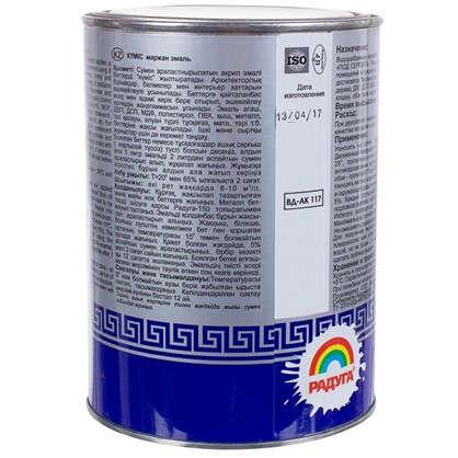 Эмаль акриловая перламутровое серебро Р-117 0.9 л