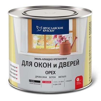 Купить Эмаль для окон и дверей цвет орех 1.9 кг дешевле