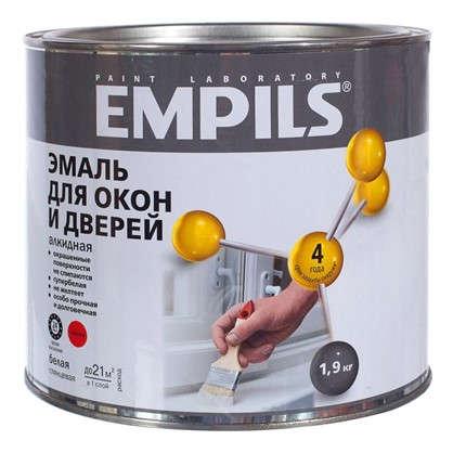 Купить Эмаль для окон и дверей Empils PL цвет белый 1.9 кг дешевле