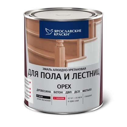 Эмаль для пола и лестниц 0.9 кг цвет орех