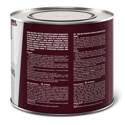 Эмаль для пола и лестниц 1.9 кг цвет венге