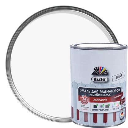 Купить Эмаль для радиаторов Dufa Heizkorperlack цвет белый 0.75 л дешевле