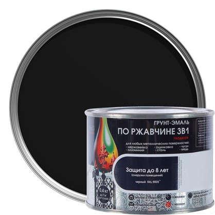 Купить Эмаль гладкая Dali 3в1 цвет черный 0.4 кг дешевле