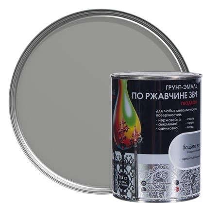 Купить Эмаль гладкая Dali 3в1 цвет серебряный 0.8 кг дешевле