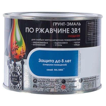 Эмаль гладкая Dali 3в1 цвет синий 0.4 кг