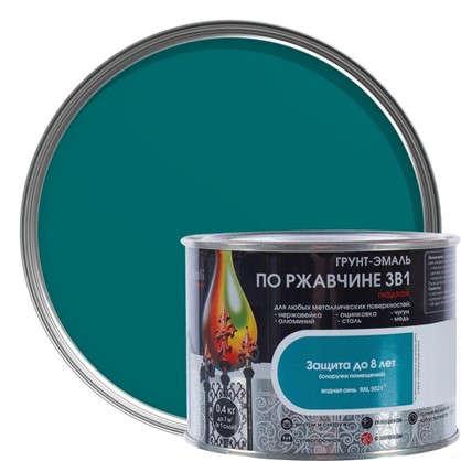 Эмаль гладкая Dali 3в1 цвет водная синь 0.4 кг