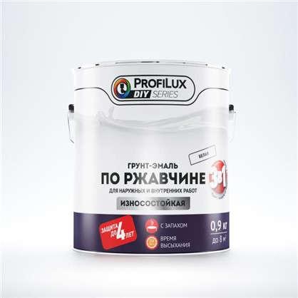 Купить Эмаль-грунт по ржавчине 3в1 цвет белый 0.9 кг дешевле
