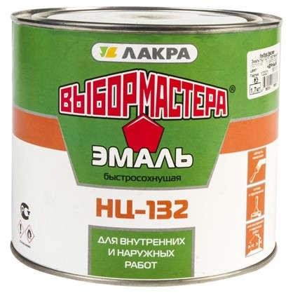 Эмаль НЦ-132 Выбор Мастера цвет черный 1.7 кг