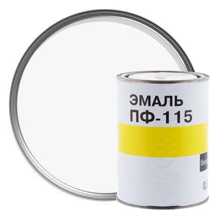 Эмаль ПФ-115 цвет белый 0.7 л