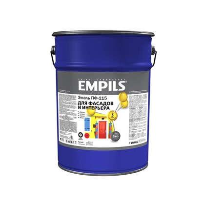 Эмаль ПФ-115 Empils PL 5 кг цвет белый