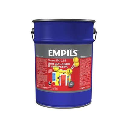 Купить Эмаль ПФ-115 Empils PL 5 кг цвет красный дешевле