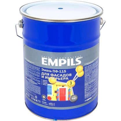 Эмаль ПФ-115 Empils PL 5 кг цвет синий