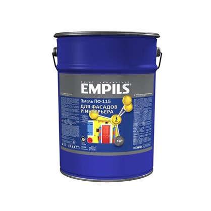 Купить Эмаль ПФ-115 Empils PL 5 кг цвет синий дешевле