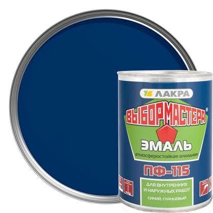 Купить Эмаль ПФ-115 Выбор Мастера цвет синий 0.9 кг дешевле