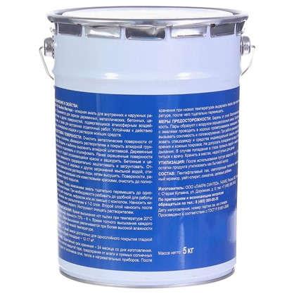 Эмаль ПФ-115 Выбор мастера цвет синий 5 кг