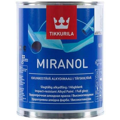 Эмаль Tikkurila Миранол цвет белый 0.9 л