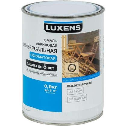 Эмаль универсальная Luxens 0.9 кг слоновая кость