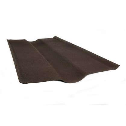 Ендова Ондулин цвет коричневый