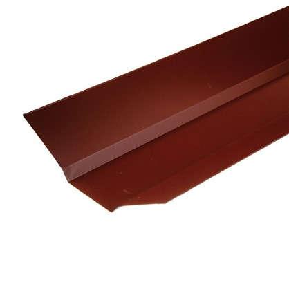 Купить Ендова внешняя с полиэстеровым покрытием 2 м цвет красный дешевле
