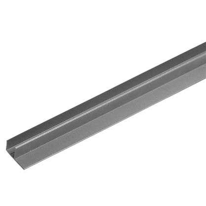 F-профиль 3000х63.5х30 мм цвет серый