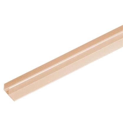Купить F-профиль3000х63.5х30 мм цвет дуб беленый дешевле