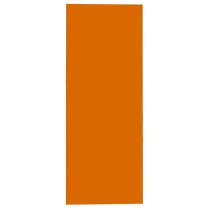 Фальшпанель для навесного шкафа Папайя 35х92 см пластик цвет папайя