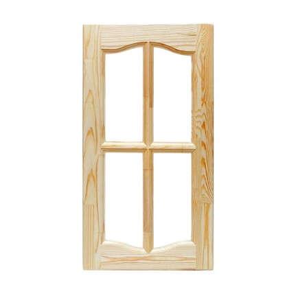 Фасад шкафа хвоя 716х396х20 мм под стекло