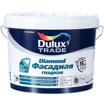 Купить Фасадная краска Dulux Гладкая база BW 10 л дешевле
