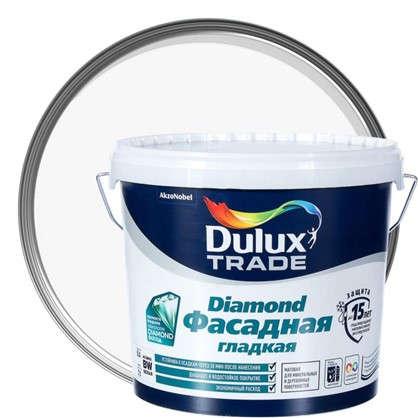 Купить Фасадная краска Dulux Гладкая BW 5 л дешевле