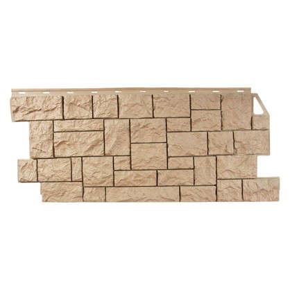 Фасадная панель FineBer Камень дикий цвет терракотовая