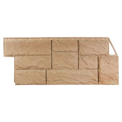 Фасадная панель FineBer Камень крупный цвет терракотовый