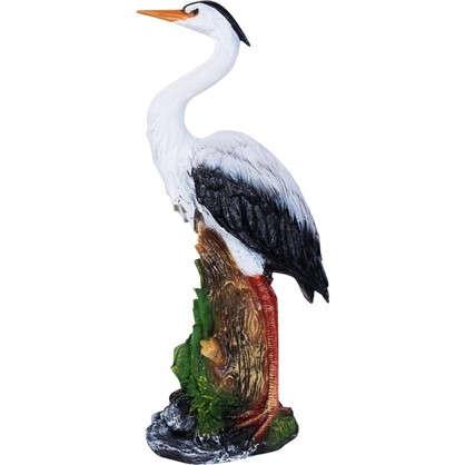 Купить Садовая фигура Цапля в камышах h59 см дешевле
